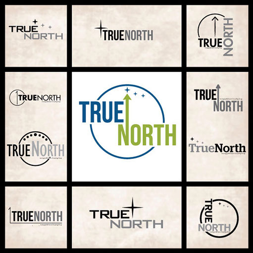 True North Logotype Development